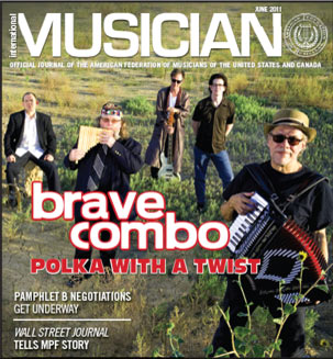 V109-06 - June 2011 - International Musician Magazine