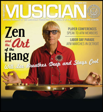 V108-10 - October 2010  - International Musician Magazine