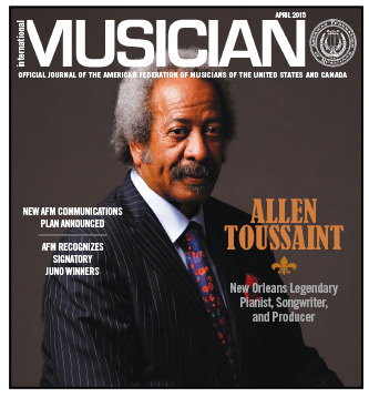 V113-04 - April 2015 - International Musician Magazine