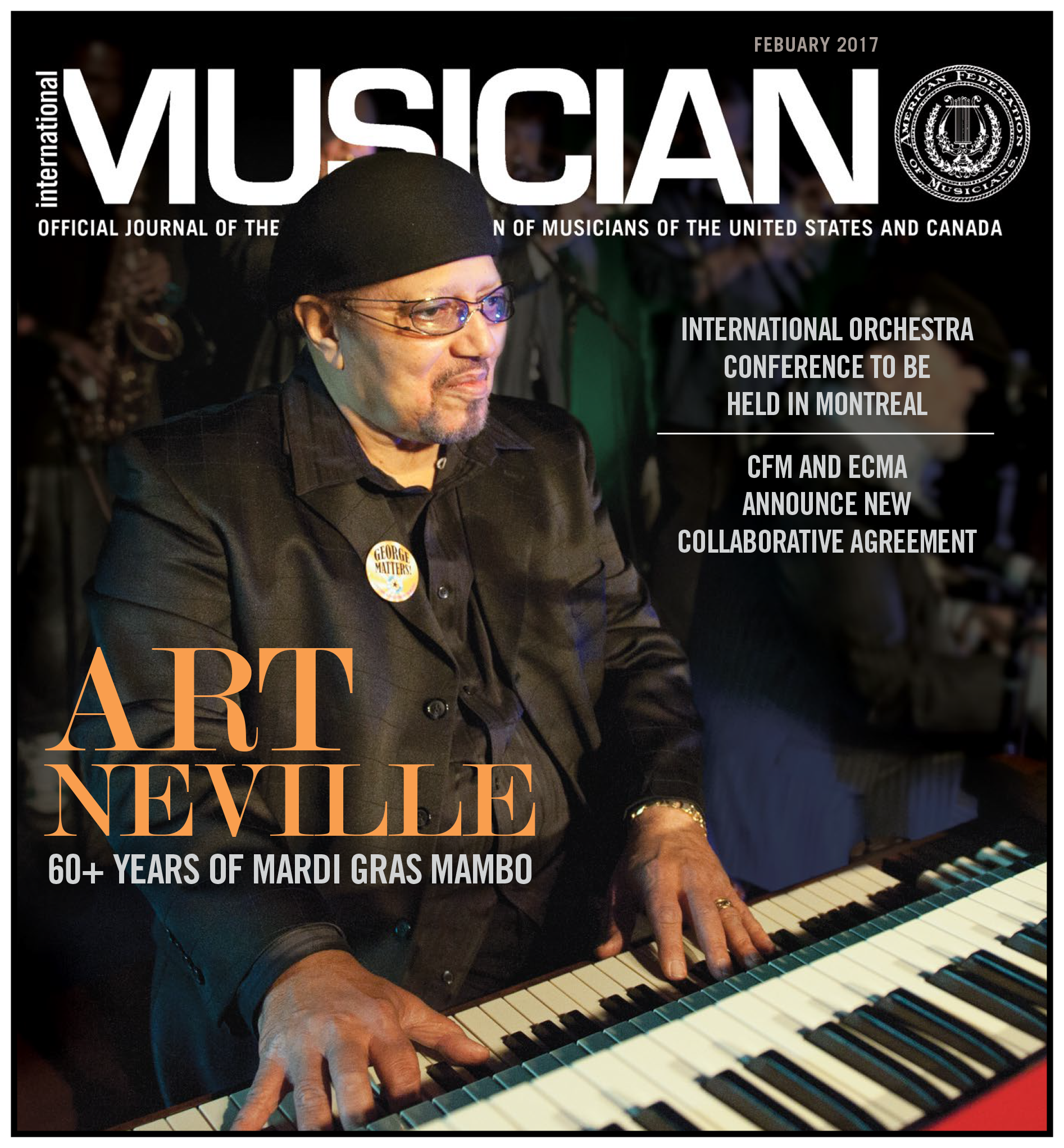 V115-02 - February 2017 - International Musician Magazine