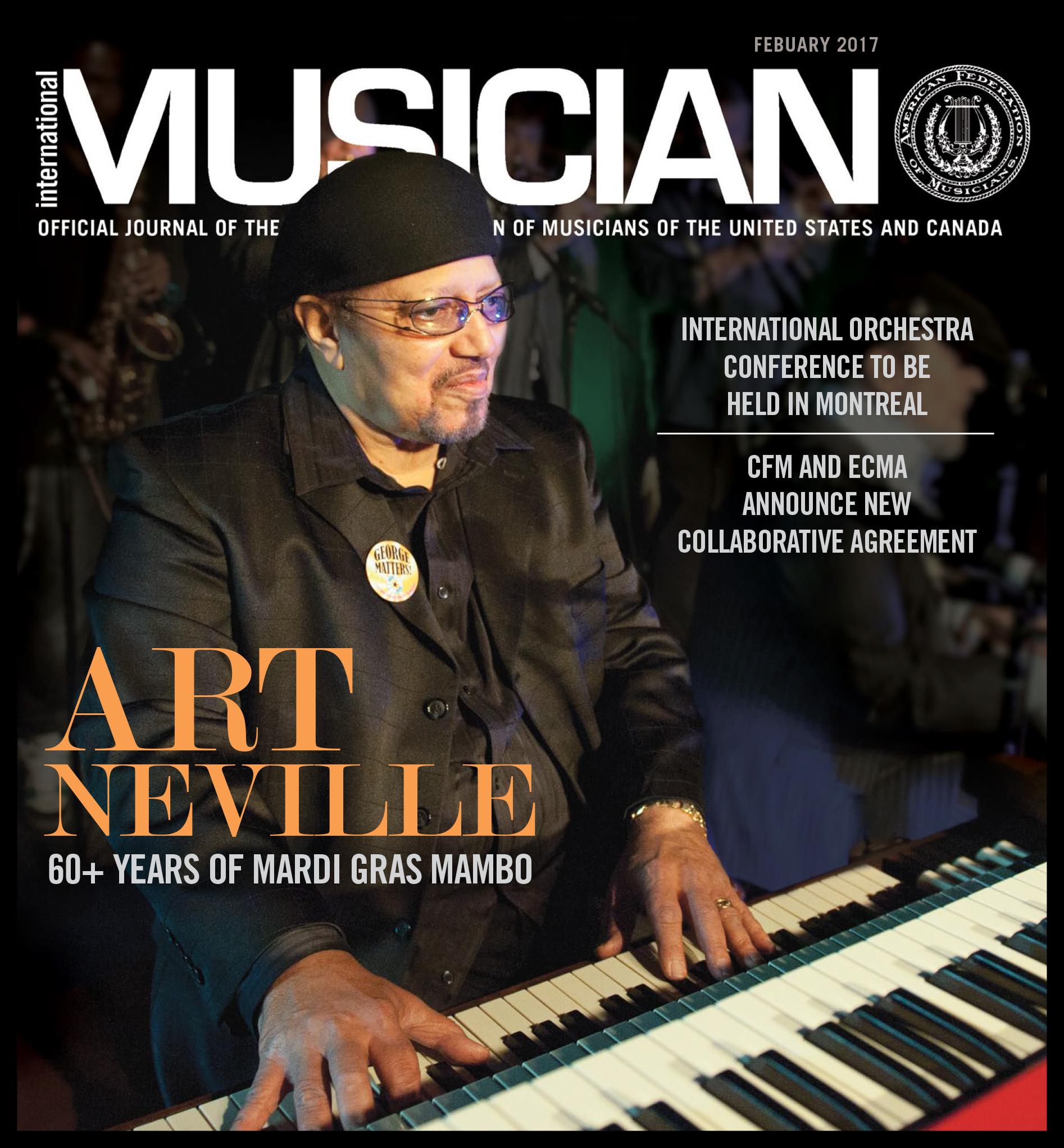 V115-02 - February 2017 - International Musician Magazine