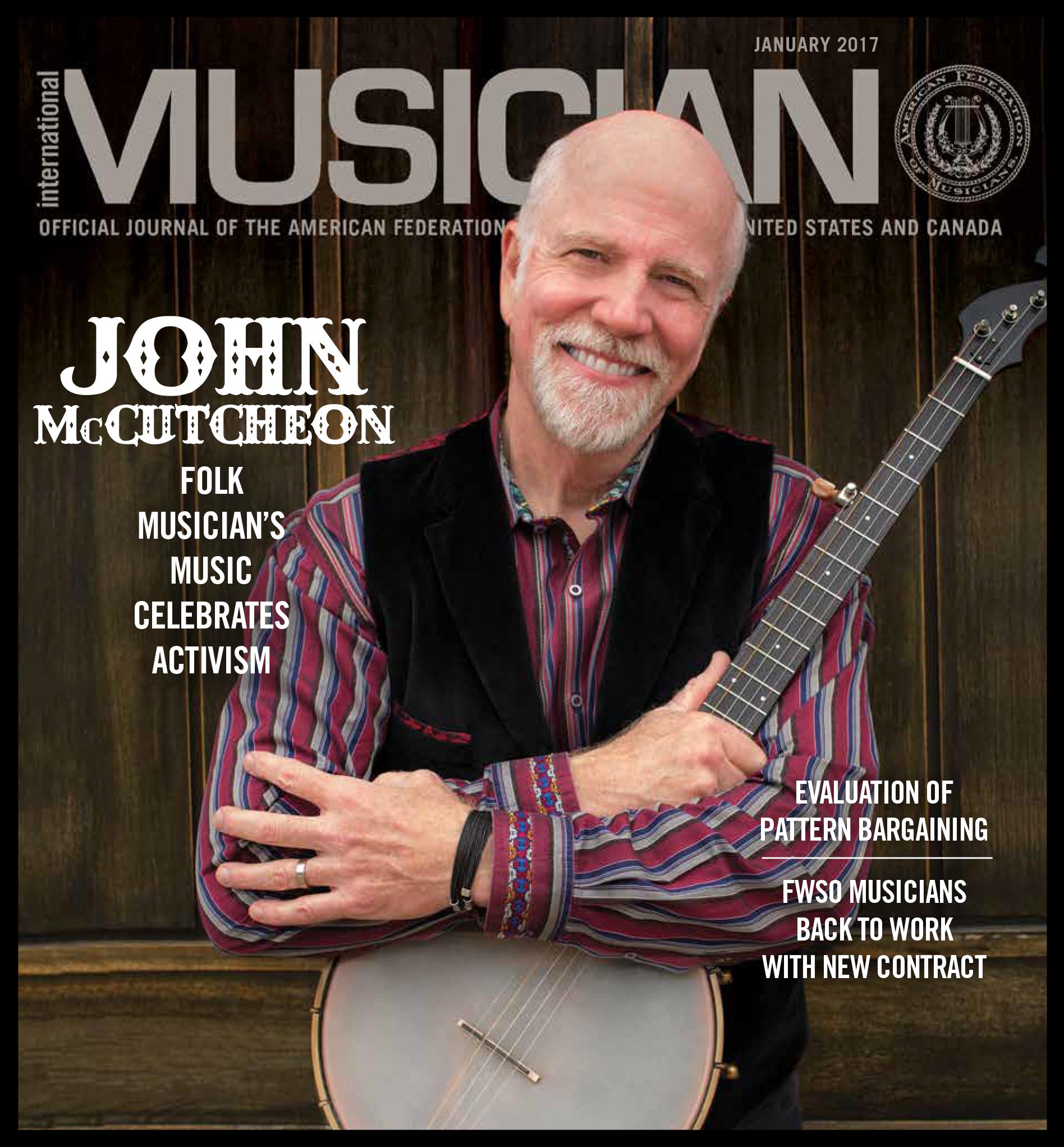 V115-01 - January 2017 - International Musician Magazine
