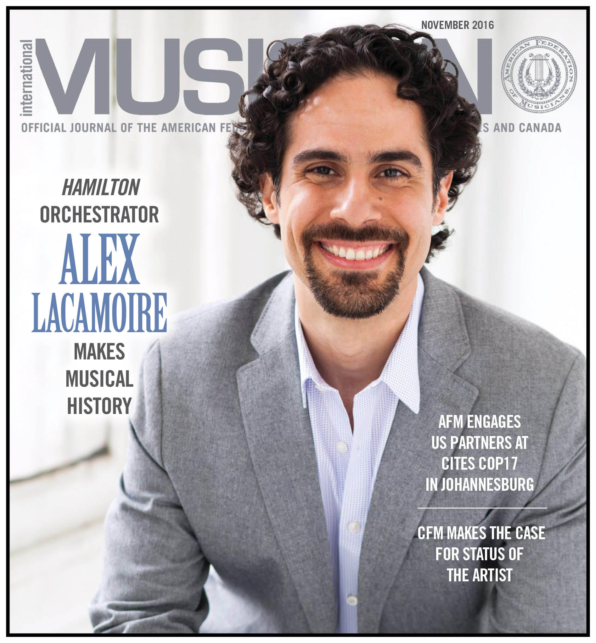 V114-11 - November 2016 - International Musician Magazine