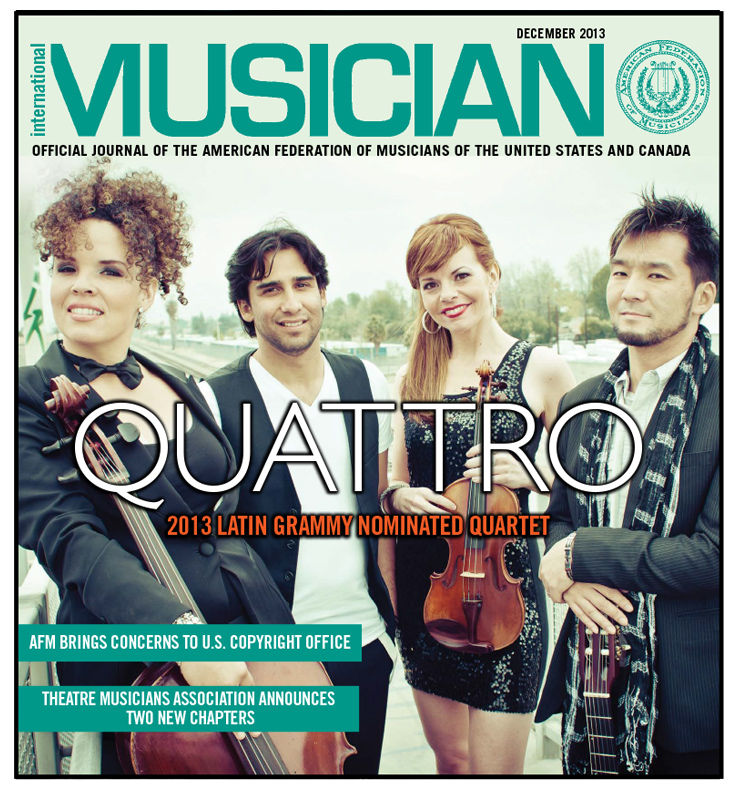 V111-12 - December 2013 - International Musician magazine