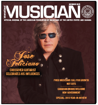 V113-12 - December 2015 - International Musician Magazine