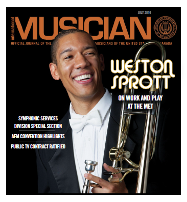 V114-07 - July 2016 - International Musician Magazine