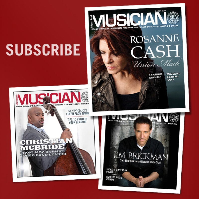 Subscribe - International Musician Magazine