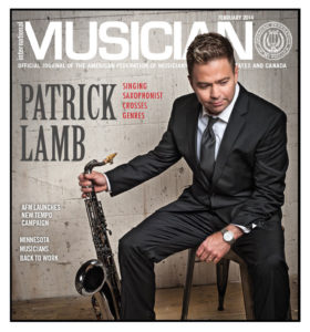 Patrick Lamb on cover