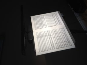 TI Triplet Symphony ii Music Stand Light photo