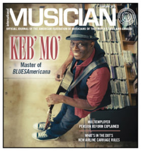 Keb Mo on cover
