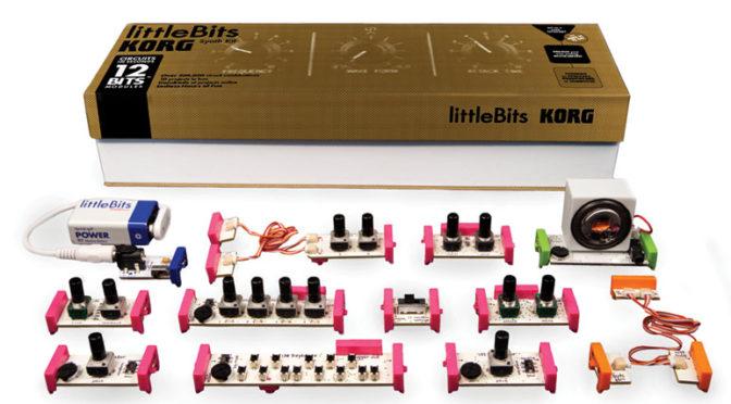 The Korg Little Bits Synth Kit
