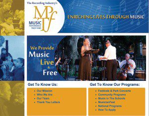mptf music performance trust fund