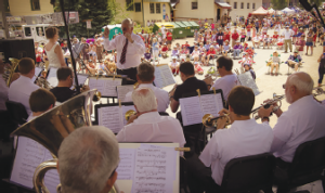 Boston Brass performed a wonderful concert on July 12, 2014, in Crested Butte, Colorado.