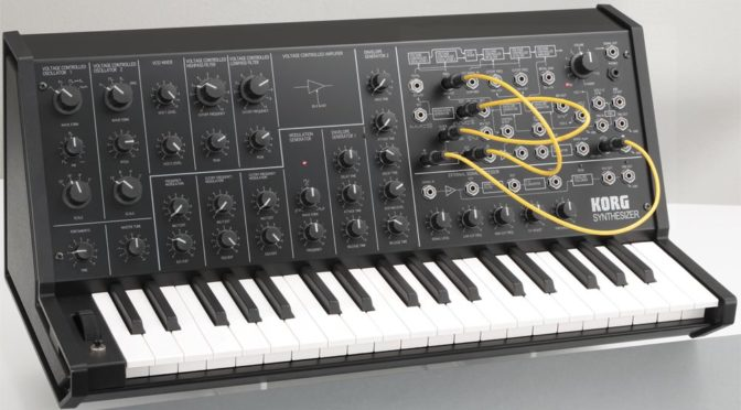 Korg's MS-20 Mini Synth