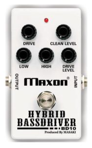 Maxon's BD10 Hybrid Bass Driver