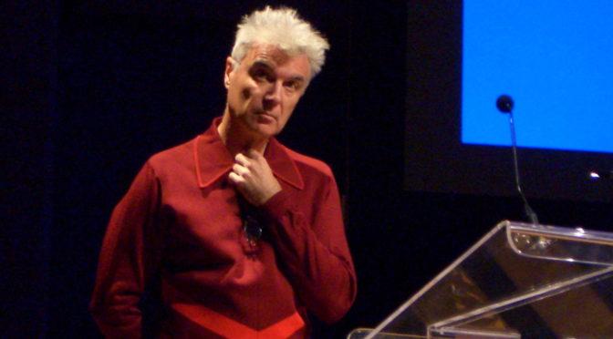 David Byrne Talks Performance Rights