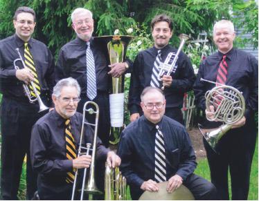 The Trenton Brass Quintet Plus One