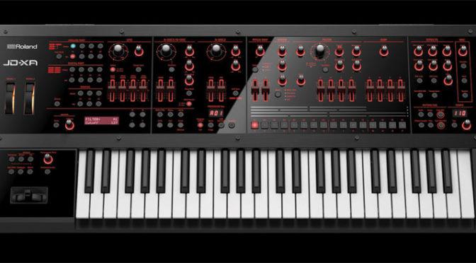 JD-XA Analog/Digital Synthesizer