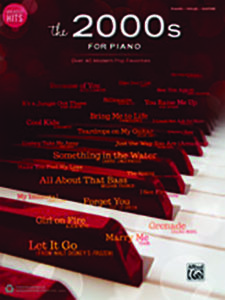 the 2000s for piano
