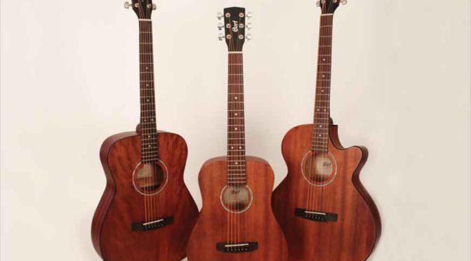 Cort Guitars' Three All-Mahogany