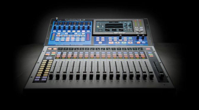 StudioLive Series III digital Console
