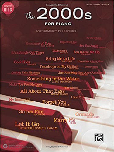 Greatest Hits: The 2000s for Piano, Over 40 Modern Pop Favorites