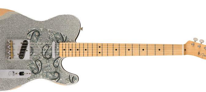 Brad Paisley's Signature Fender Guitar