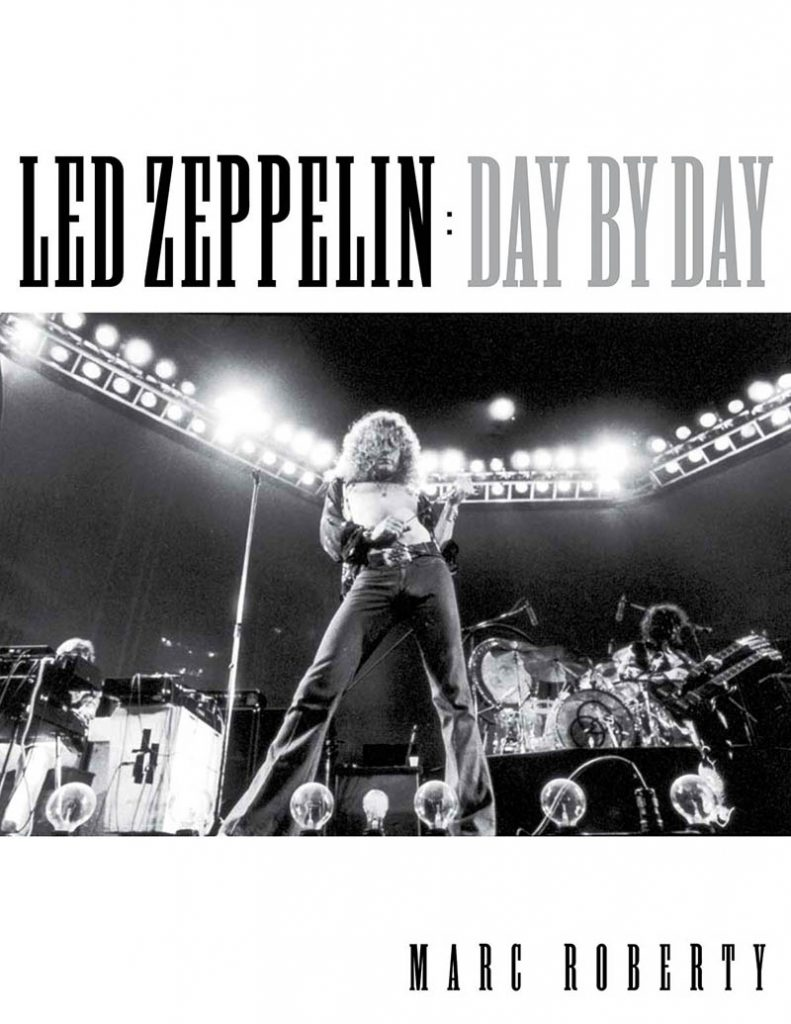 led zeppelin day by day international musician. Black Bedroom Furniture Sets. Home Design Ideas