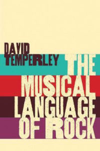 The Musical Language of Rock