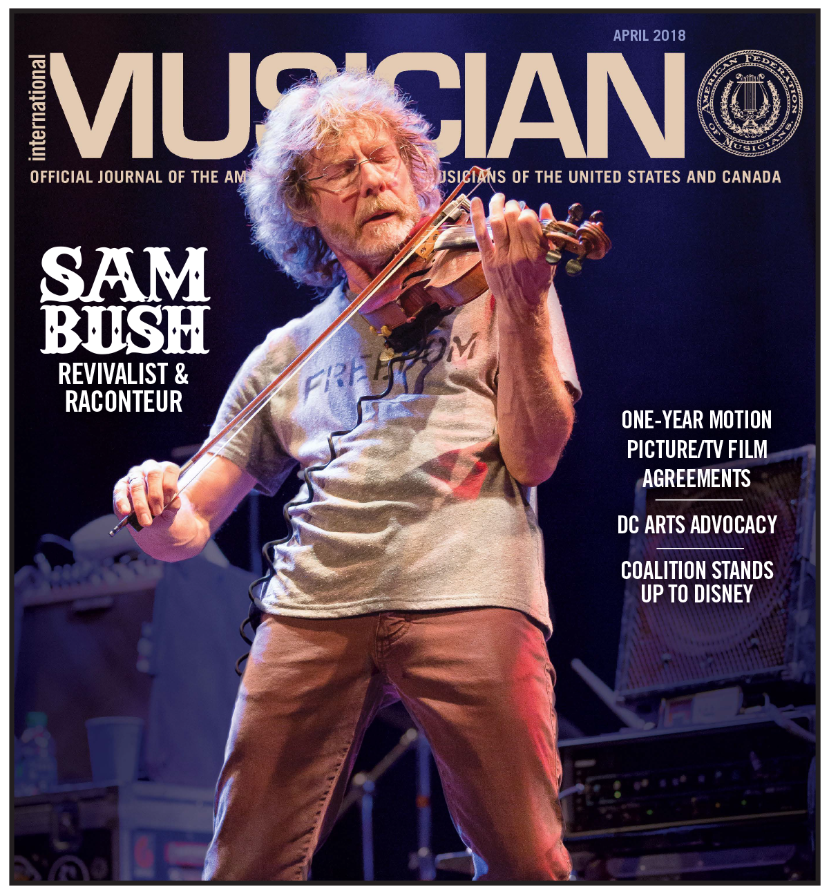 V116-04 - April 2018 - International Musician Magazine