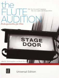 the flute audition