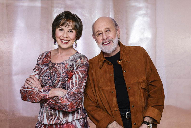 Sharon Hampson and Bram Morrison