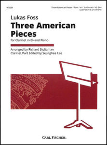 Three American Pieces for Clarinet in Bb and Piano