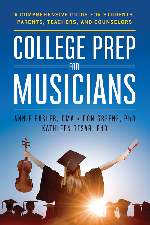 college prep for musicians