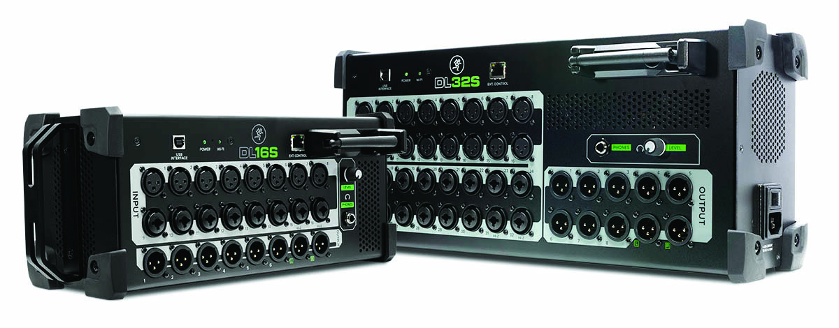 DL series digital wireless mixers