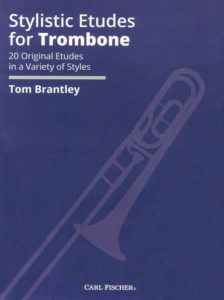 stylistic etudes for trombone