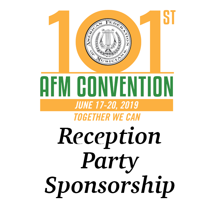 1. Reception Party Sponsorship