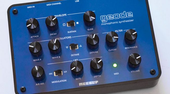 meeblip geode synthesizer