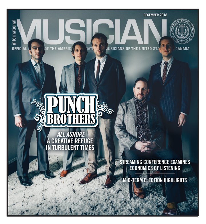 V116-12 - December 2018 - International Musician Magazine