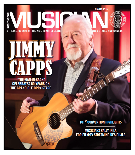 V117-08- August 2019 - International Musician Magazine