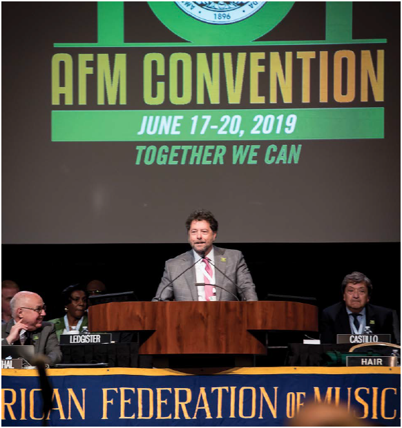 afm 101st convention
