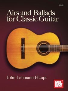 airs and ballads for classical guitar
