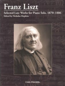 selected late works for piano solo