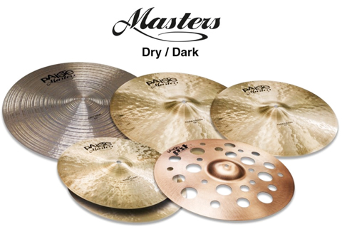 Paiste Masters Dry/Dark Box Set