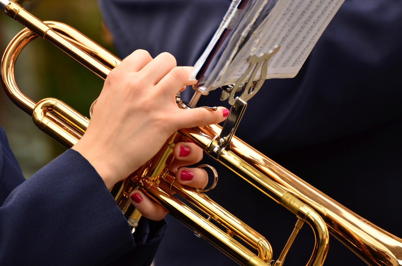female brass musicians
