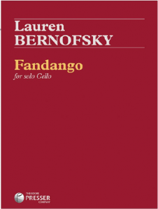 fandango for solo cello