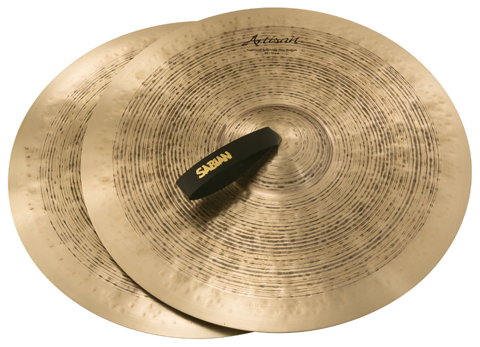 Sabian 20-inch Artisan Traditional Symphonic Elite Medium Cymbal Pair