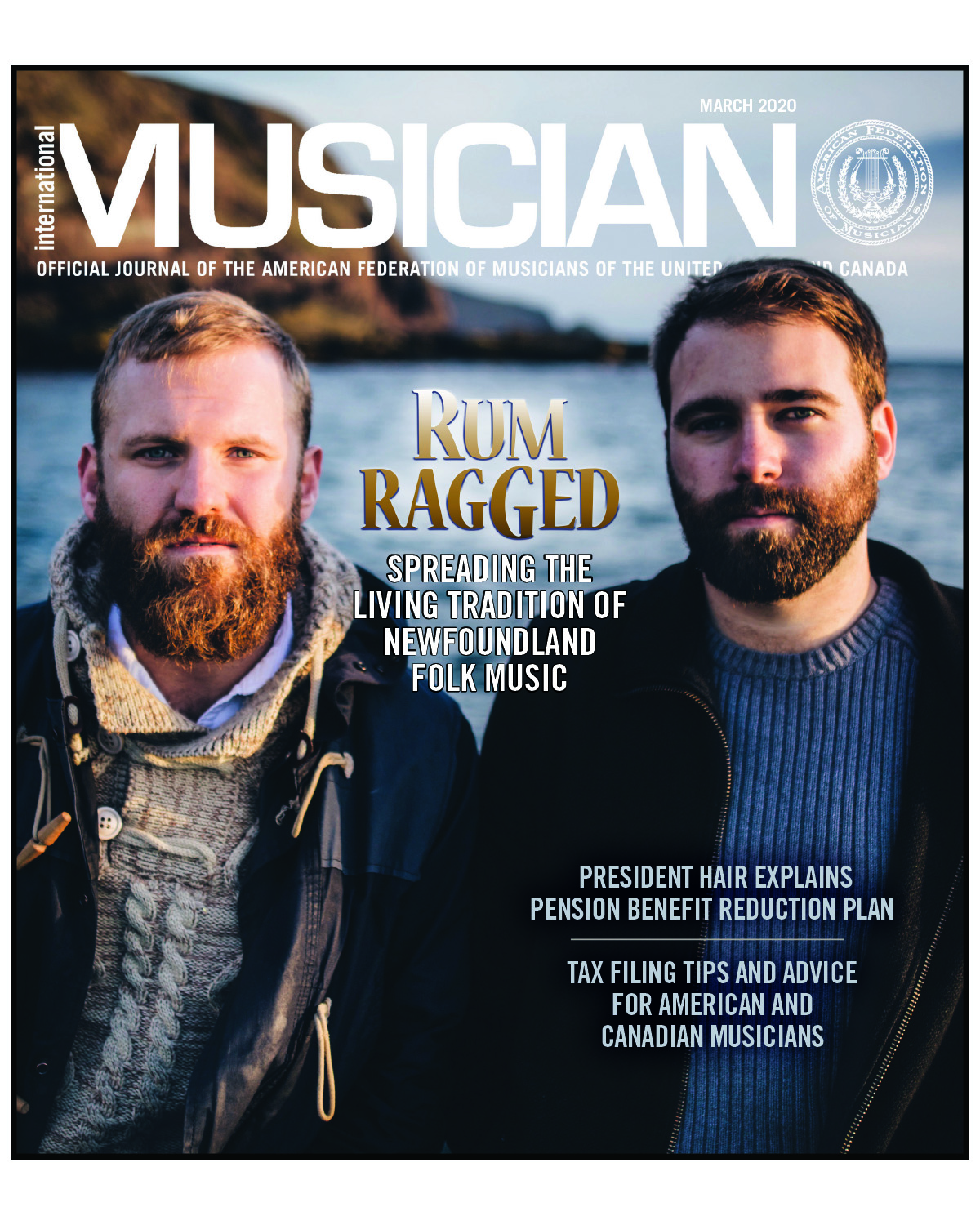 V118-03- March 2020 - International Musician Magazine