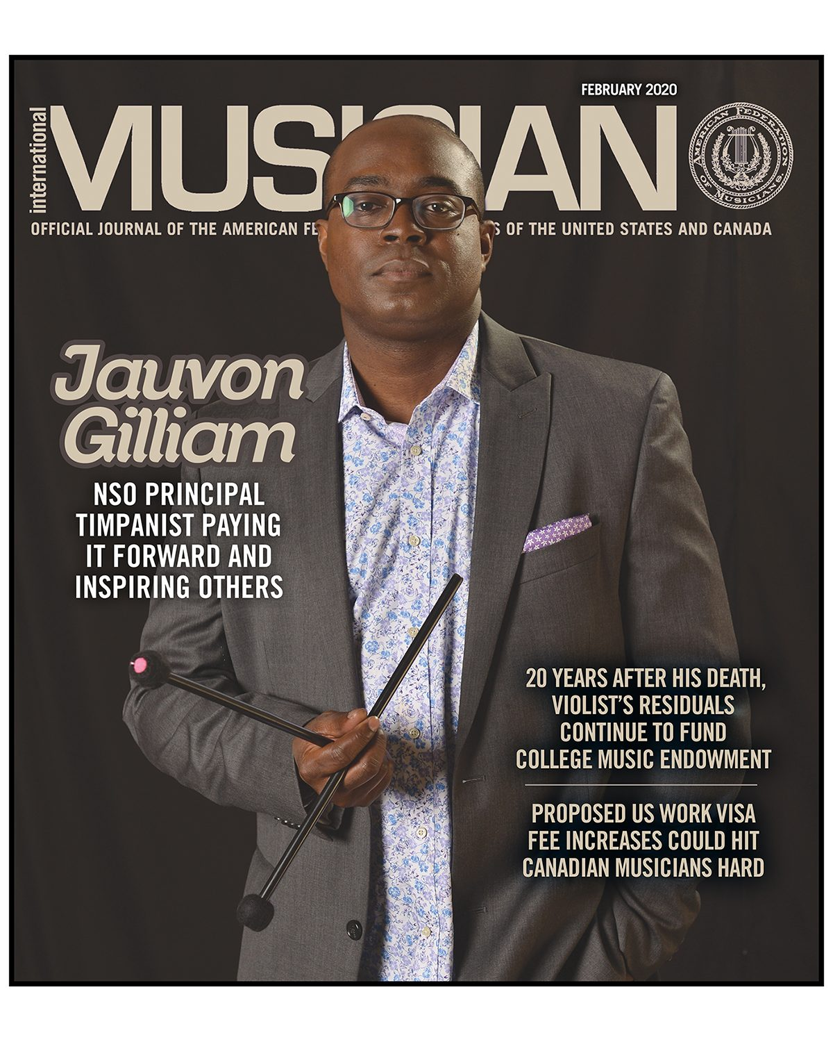 V118-02- February 2020 - International Musician Magazine