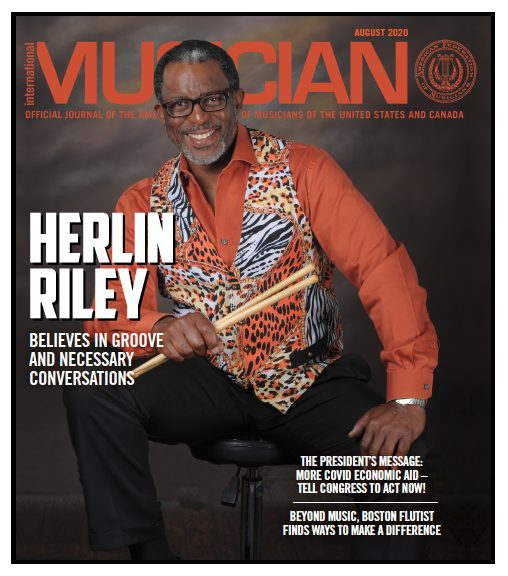 Herlin Riley cover